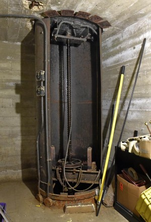 Performer Lift in Stage Basement