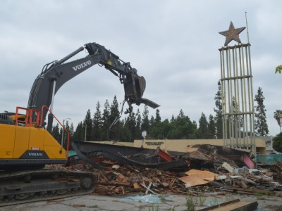 Star Theater, La Puente Updated: 17th June 2019 S. Charles Lee's one-of-a-kind Star Theater was demolished this morning to make way for 22 condos. LAHTF is working behind the scenes to try to save the iconic neon Star sign, but the theatre is gone.  Click here for more info.