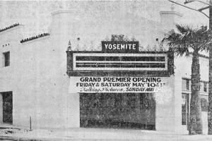 Yosemite Theater, 1929