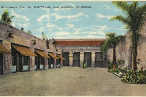Forecourt in 1922