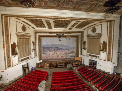 Grand Theatre Updated: September 2019 The Los Angeles Community College District (LACCD) determined in August that reuse of the theatre is infeasible and inconsistent with LACCD