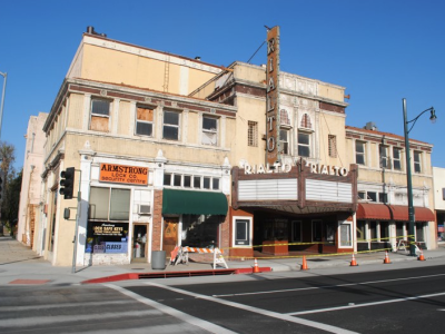 Rialto Theatre, South Pasadena Updated: January 2020 Shomof Group, owner of the Rialto Theatre, is taking charge of significant restoration work on the building's exterior, with work starting mid-January. Click here for more info.